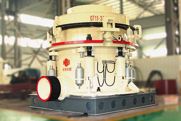 <b>HPduo缸ye压圆锥po碎机(Multi-cylinder Hydraulic Cone Crusher)</b>