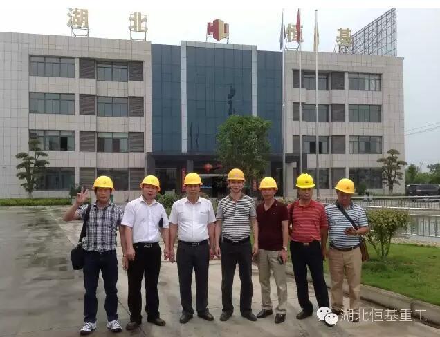 热烈欢迎越南客户到湖北必威首页登录入口重工实地考察