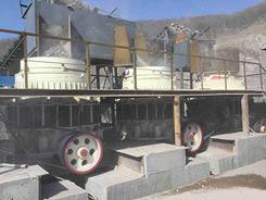 吉林花岗岩石场生产线