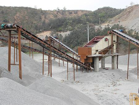 湖北花岗岩石场生产线